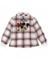 Camisa Niña MONNALISA Cuadros Mickey & Minnie