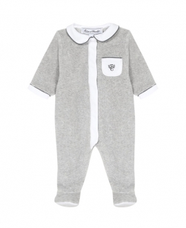 Pijama Bebé TARTINE ET CHOCOLAT Gris Ribete