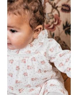 Vestido Bebé Niña TARTINE ET CHOCOLAT Perla Estampado Floral