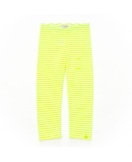 Leggings So Twee Niña Rayas Amarillo