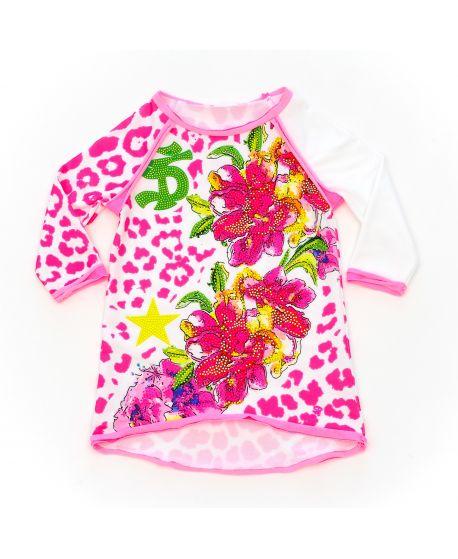Vestido So Twee Niña Estampado