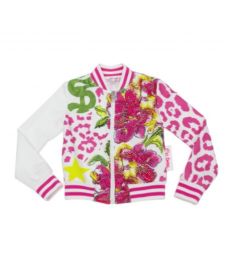 Chaqueta So Twee Niña Estampado