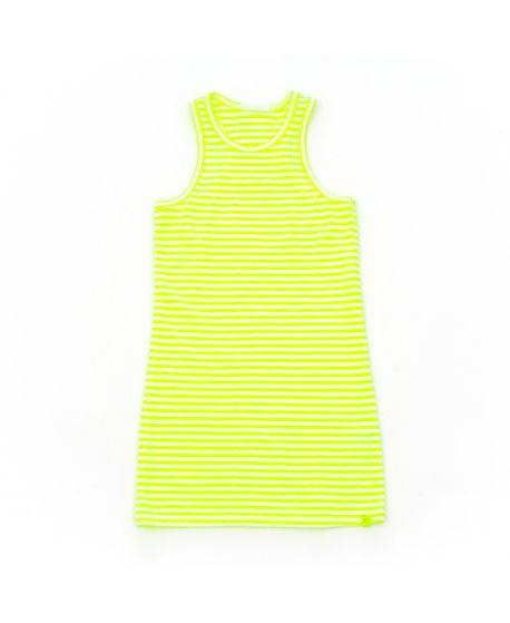 Camiseta So Twee Niña Tirantes Amarilla Rayas