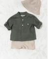 Camisa Bebé Niño TARTINE ET CHOCOLAT Lino Kaki