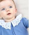 Enterito Bebé Niña TARTINE ET CHOCOLAT Lavanda Cuello Perforado