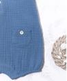 Ranita Bebé Niño TARTINE ET CHOCOLAT Azul Textura
