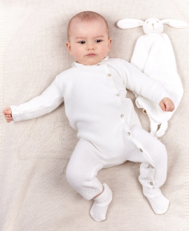 Pelele Bebé TARTINE ET CHOCOLAT Patrón Calado
