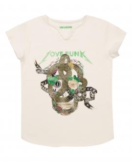 Camiseta Niña ZADIG & VOLTAIRE Serpiente