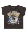 Camiseta Niña ZADIG & VOLTAIRE Pizarra Guitarras