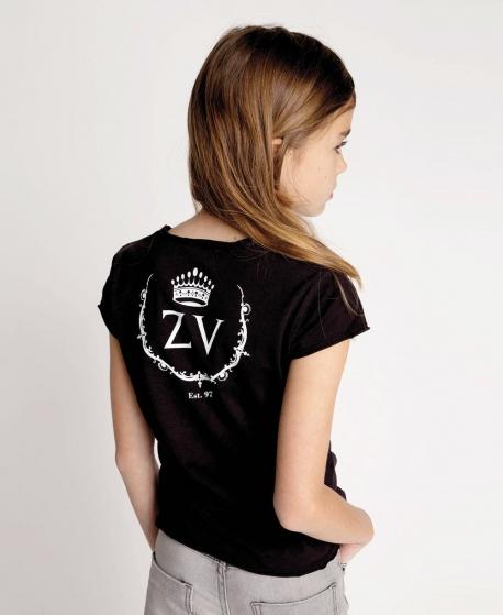 Camiseta Niña ZADIG & VOLTAIRE ZV Negra
