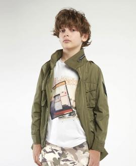Camiseta Niño ZADIG & VOLTAIRE Blanca Fotos