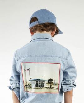 Camisa Niño ZADIG & VOLTAIRE Denim Print