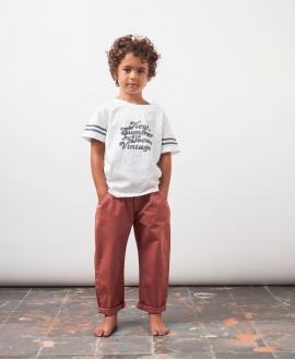 Camiseta Niño TOCOTO VINTAGE 'Hey Summer' Crudo