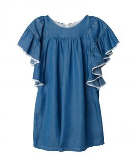 Vestido Niña CHLOÉ Denim Azul
