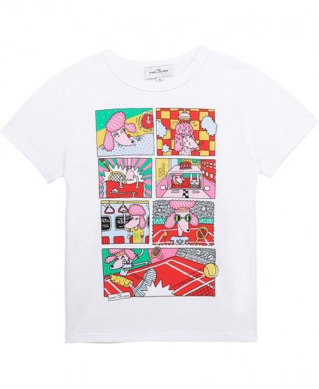 Camiseta THE MARC JACOB Blanco Viñetas