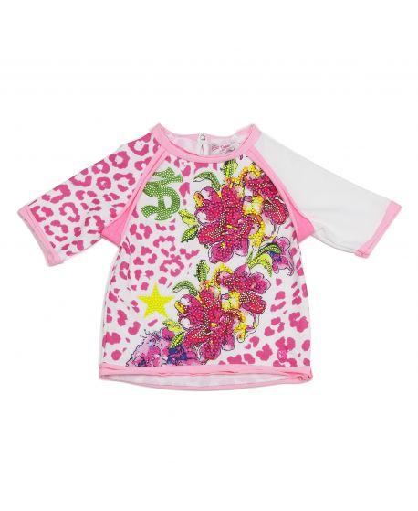 Vestido So Twee Microbe Niña Estampado