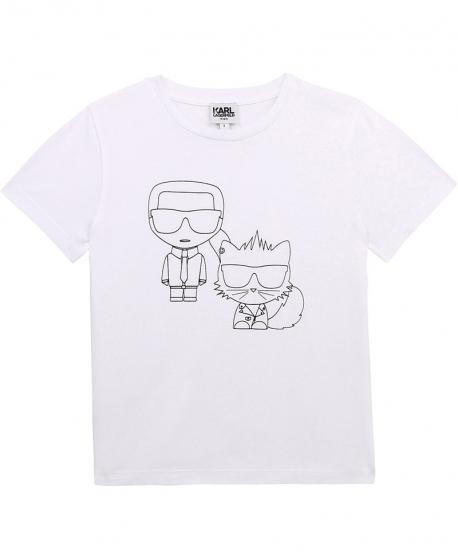 Camiseta KARL LAGERFELD Siluetas