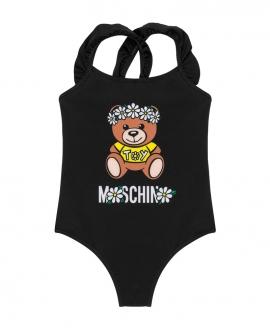 Bañador Niña MOSCHINO Daisy Teddy Bear Negro