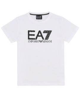 Camiseta Niño ARMANI Blanca EA7
