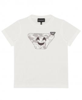 Camiseta Niño EMPORIO ARMANI Maxiemoticono Camo