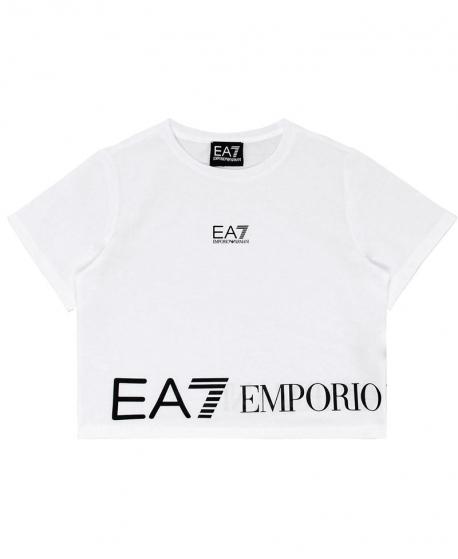 Camiseta Niña EMPORIO ARMANI Blanca EA7