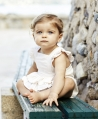 Ranita Bebé Niña TARTINE ET CHOCOLAT Rosa Volantes