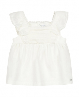 Camiseta Bebé Niña TARTINE ET CHOCOLAT Encaje