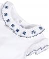 Body Bebé Niña TARTINE ET CHOCOLAT Bordado Flores Azul