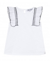 Camiseta Niña TARTINE ET CHOCOLAT Blanco Flameado