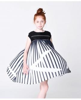 Vestido Niña KARL LAGERFELD Negro