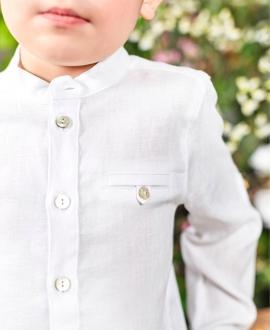 Camisa Niño TARTINE ET CHOCOLAT Lino Blanco