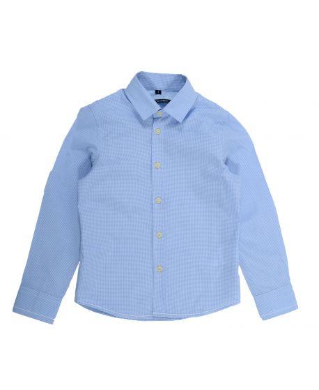 Camisa Aston Martin Niño Azul claro