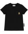 Camiseta MOSCHINO Blanca Bolsillo Teddy