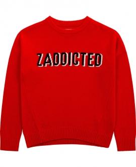 Jersey Niña ZADIG & VOLTAIRE Rojo 'Zaddicted'