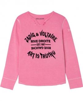 Camiseta Niña ZADIG & VOLTAIRE Rosa