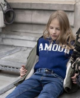 Jersey Niña ZADIG & VOLTAIRE 'Amour'