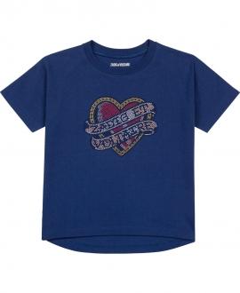 Camiseta Niña ZADIG & VOLTAIRE Azul