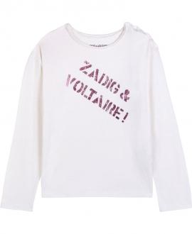 Camiseta Niña ZADIG & VOLTAIRE Marfil