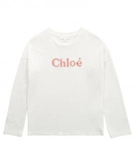 Camiseta Niña CHLOÉ Blanco Roto
