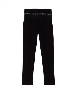 Pantalón Niña KARL LAGERFELD Negro