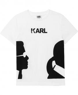 Camiseta KARL LAGERFELD Blanca Karl