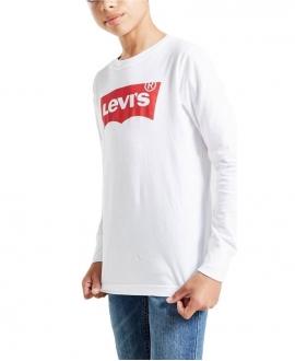 Camiseta LEVI'S Blanca Logo Batwing (de 10 a 16 años)