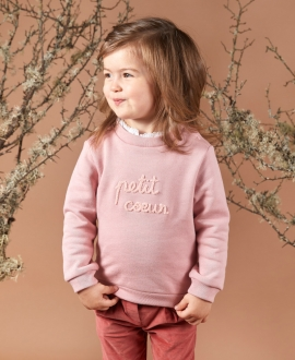 Sudadera Bebé Niña TARTINE ET CHOCOLAT Polar Rosa