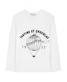 Camiseta Niño TARTINE ET CHOCOLAT Ilustración Marino