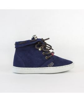 Zapatilla Dolfie Peter 01 Navy Blue Suede