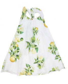 Vestido Roberto Cavalli Niña Estampado Limones