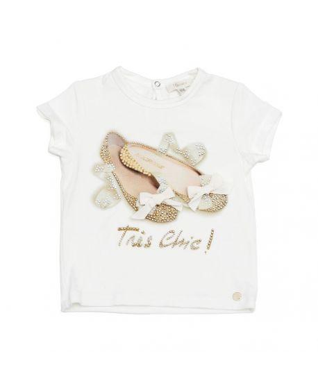 Camiseta Microbe Niña Bailarinas