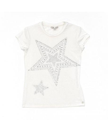 Camiseta Miss Grant Niña Estrellas Plata