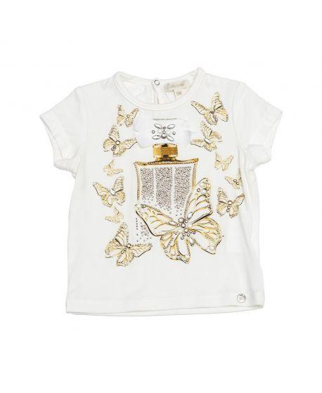 Camiseta Microbe Niña Mariposas