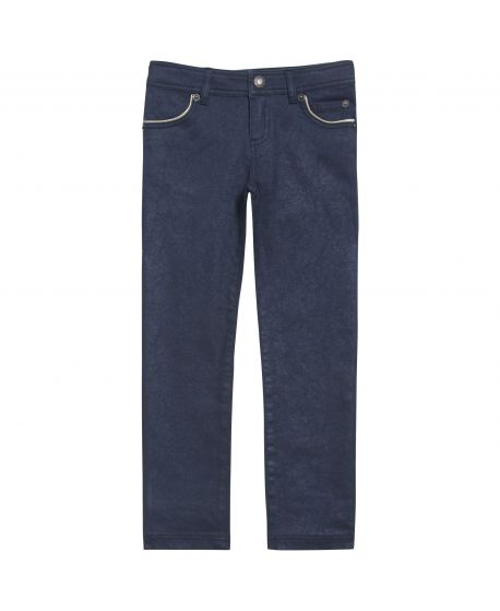 Pantalon Niña Tartine et Chocolat Azul Largo Swarovski